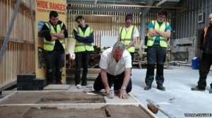 Tommy Walsh at Yeovil Construction Centre